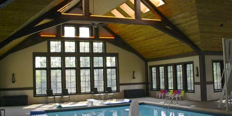"""Pickerington, OH Pool Really Performs With """"Free"""" Heating."""