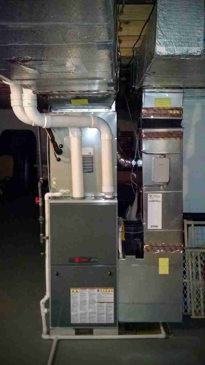 New High Efficiency Furnace