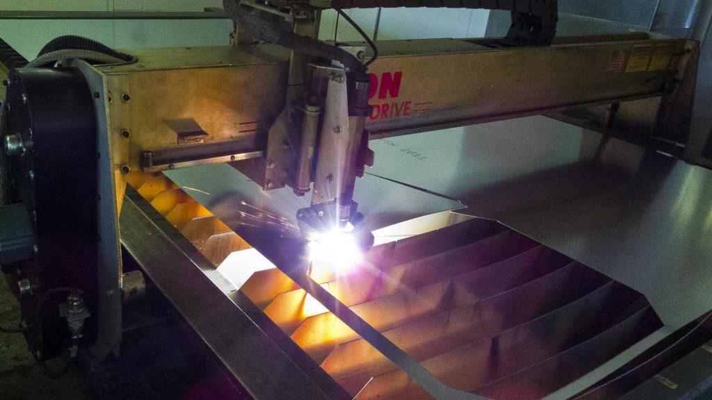 Laser Cutting Fabrication image Custom Air