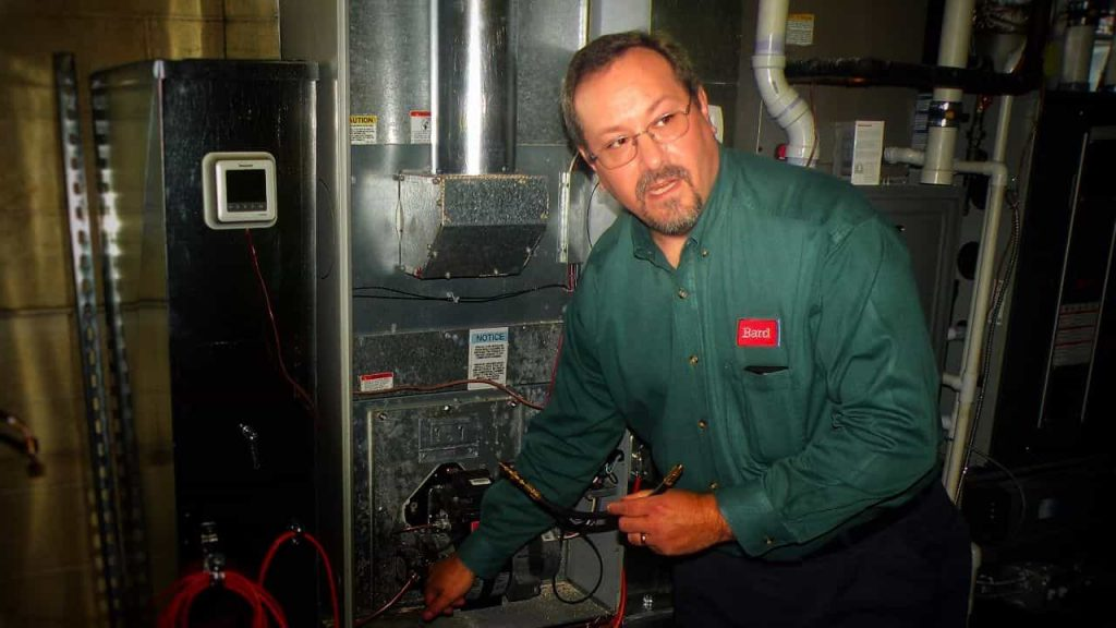 Oil Furnace Repair & Installation Expert Jim Cross of Bard HVAC