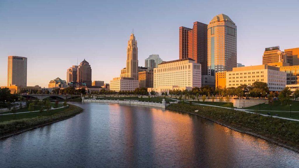 Columbus OH skyline Image. Heating & Cooling Columbus, OH