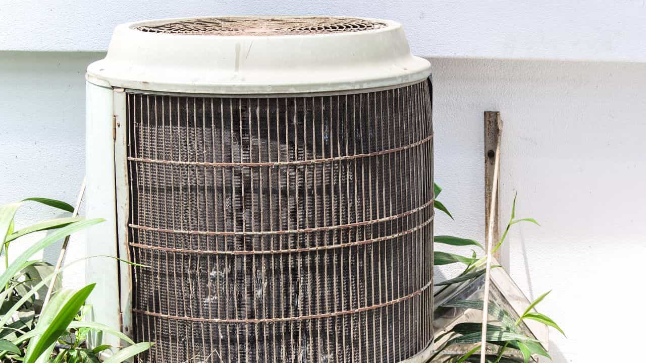 Old Air Conditioner Replacement