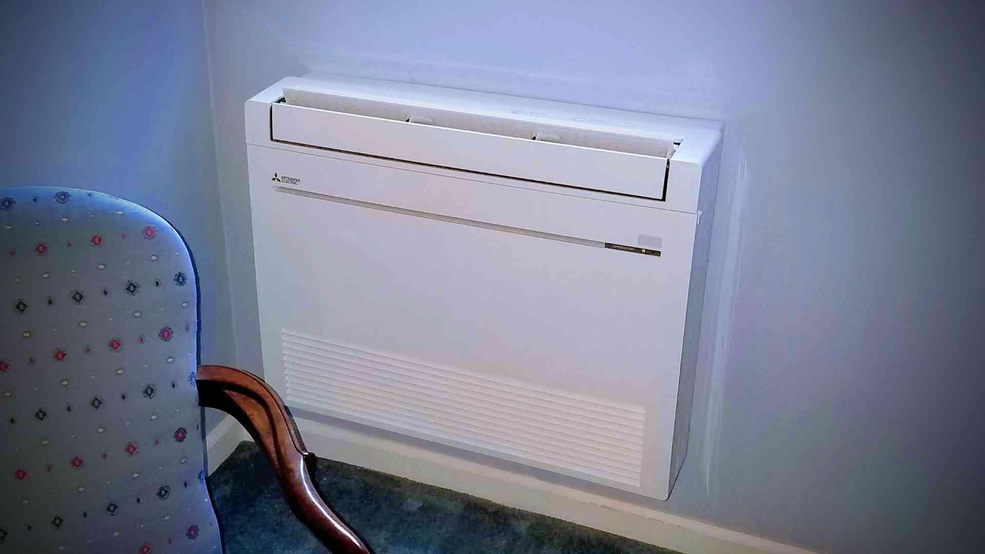 Mitsubishi Heat Pump Floor Console